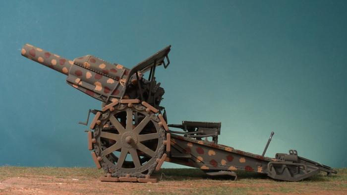 Artillery German 21cm Morser 1910 1916